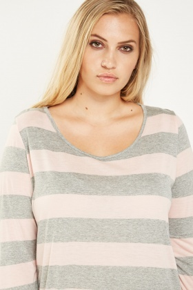 Wide Striped Top