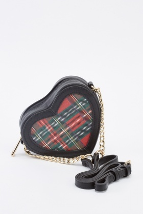 Mini Heart Faux Leather Shoulder Bag