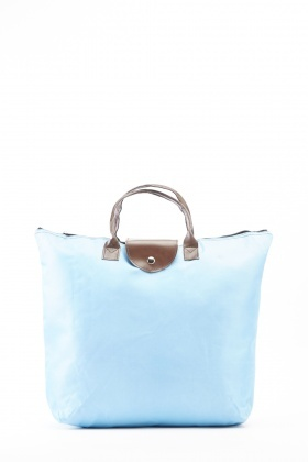 Textured Foldable Shopper Bag