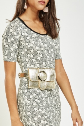 Buckled Purse Belt