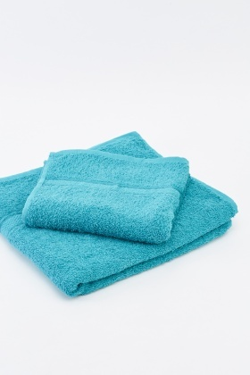 Cotton 2 Piece Towel Set