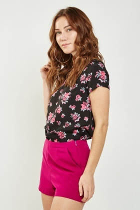 Floral Casual Top
