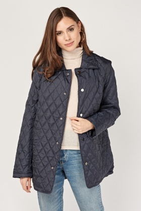 Quilted Oversized Jacket