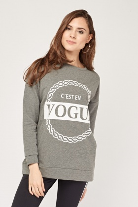 Vogue Graphic Sweater
