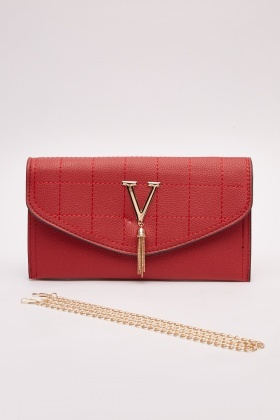 Detailed Front Clutch Bag