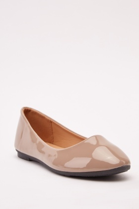 PVC Casual Ballet Pumps