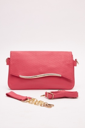 Quilted Contrast Bag