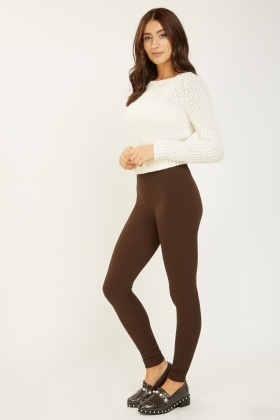 Basic Knitted Leggings