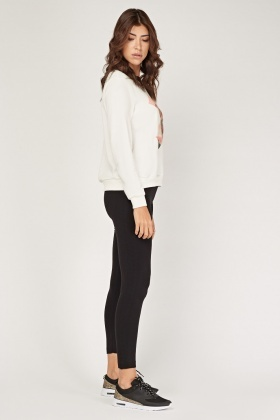 Detailed Side Skinny Leggings