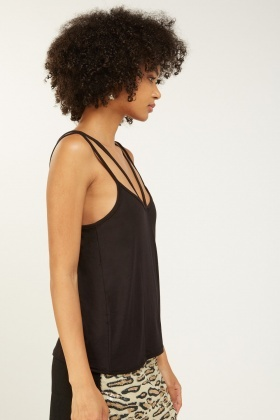 Double Strap Basic Cami Top