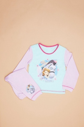 Sofia The First Print Pyjama Set