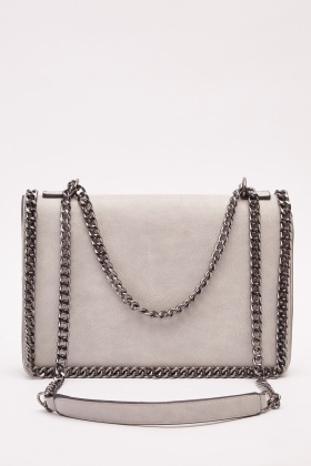Chain Detailed Handbag