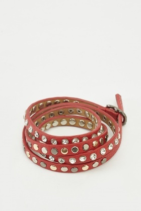 Studded Multiple Band Bracelet