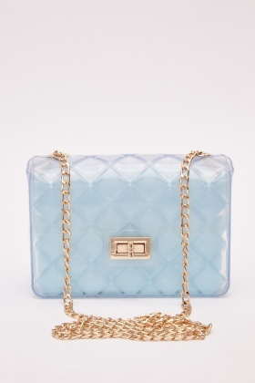 Transparent Quilted Jelly Bag