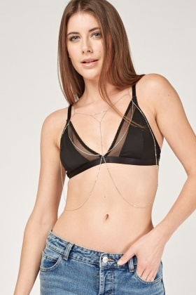 Draped Delicate Body Chain