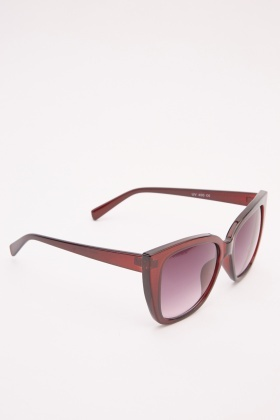 Tinted Square Sunglasses