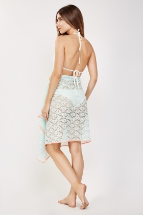 Tie Up Lace Sarong