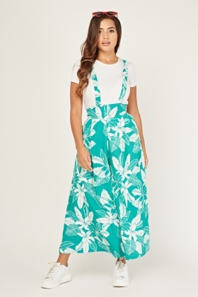 Tropical Printed Palazzo Trousers