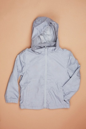 Kids Unisex Reversible Hooded Jacket
