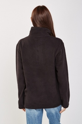 Zip Up Poly Fleeced Jacket