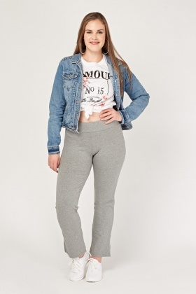 Casual Straight Fit Joggers