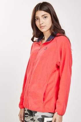 Zip Front Poly-Fleeced Jacket