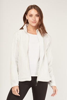 Zip Up Poly-Fleeced Jacket