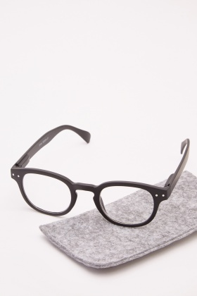 Classic Black Reading Glasses