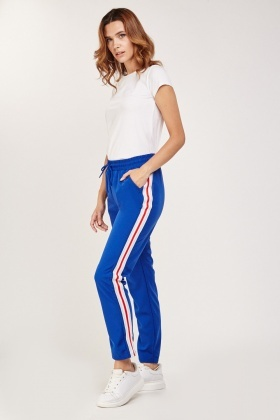 Striped Side Jogger Pants