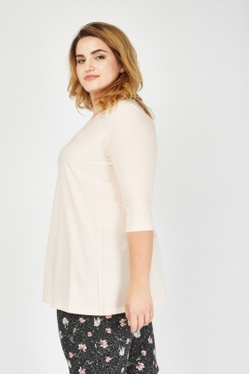3/4 Sleeve Long Top
