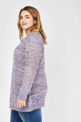 Chunky Knit Casual Cardigan