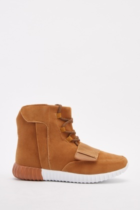 Men's Suedette High Top Sneakers