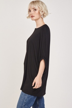 Loose Batwing Casual Top