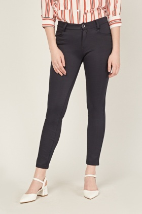 Skinny Fit Trousers