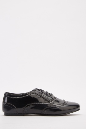 Hi-Shine Lace Up Brogues