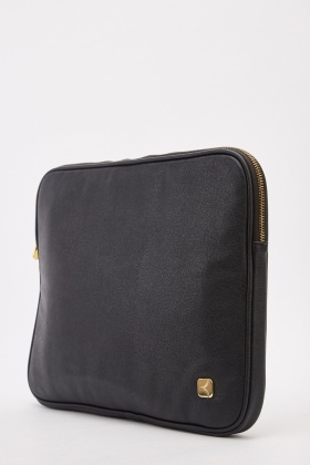 Faux Leather Laptop Case Cover