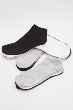 12 Pairs Of Mens Ankle Socks
