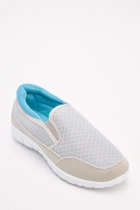 Perforated Contrast Slip On