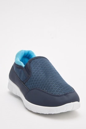 Perforated Low Top Plimsolls