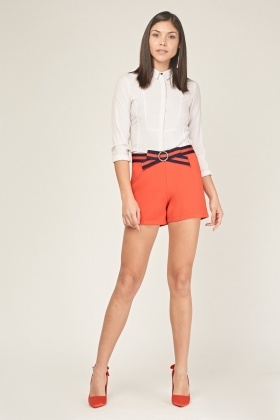 Detailed Bow Shorts