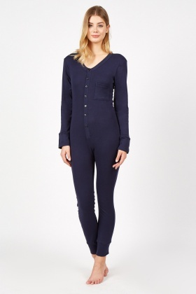 Button Up Casual Onesie