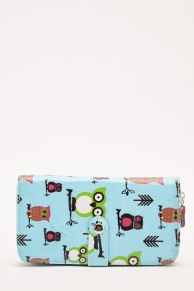 Owl Printed Purse