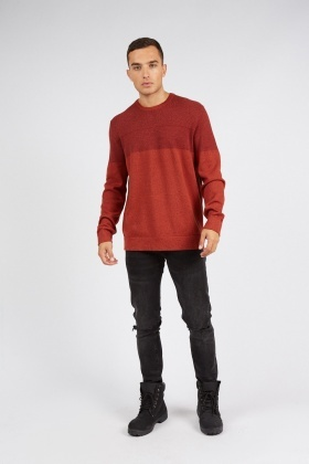 Casual Knitted Jumper