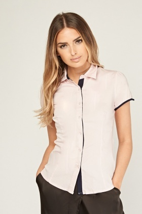 Short Sleeve Fitted Top