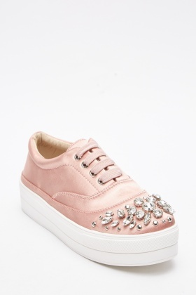 Emellished Staeen Chunky Trainers