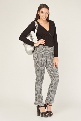 Checkered Casual Treggings