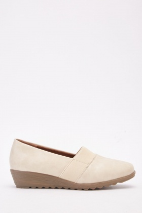 Elasticated Low Edge Shoes