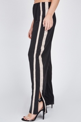 Striped Side Jogger Style Pants