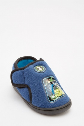 Blue Boys Ben 10 Slippers