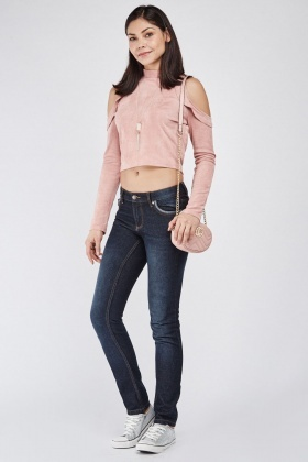 Low Waist Denim Jeans